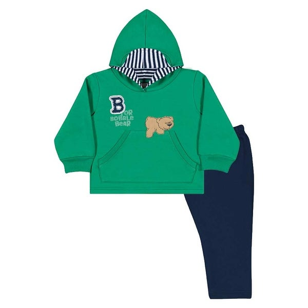 Baby Boy Outfit Hoodie Sweater and Pants Set Pulla Bulla Sizes 3-12 Months