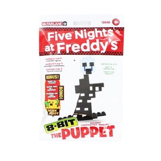Five Nights at Freddy's 8-Bit Buildable Figure: The Puppet