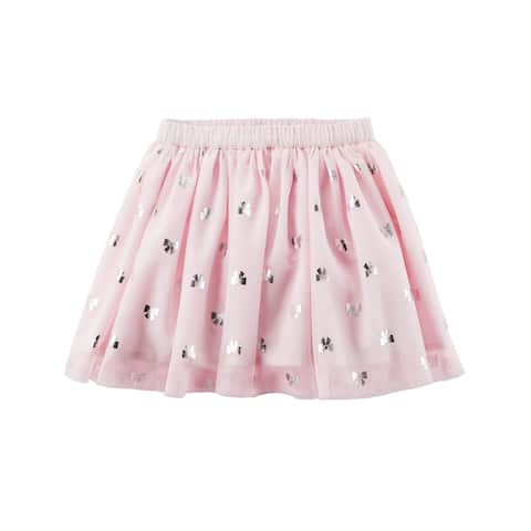 Carter's Baby Girls' Tutu Tulle Bow Pink Skirt - 9 Months