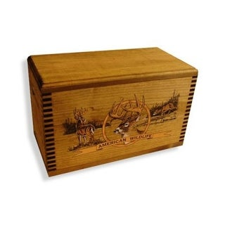 Ammo/Accessory Case with Shaped Top - Color Wildlife Deer