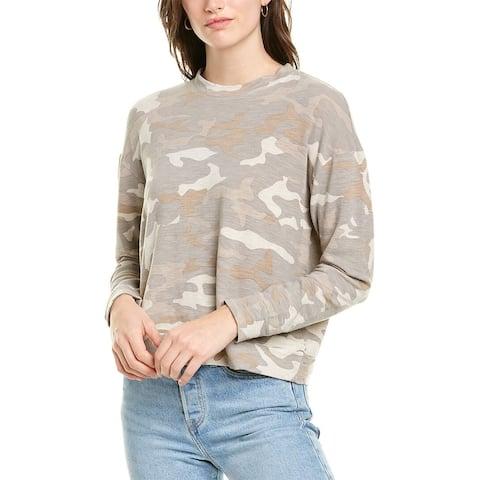 Monrow Urban Camo Sweatshirt