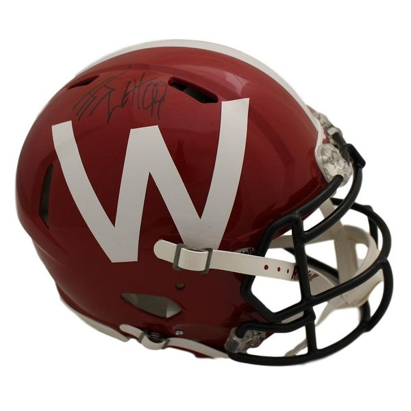 7f5f6deb7 Shop JJ Watt Autographed Wisconsin Badgers Red Speed Proline Helmet JSA - Free  Shipping Today - Overstock - 22544526