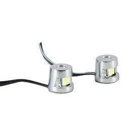 Pilot Automotive White LED Mini Pod Light (Set of 2)
