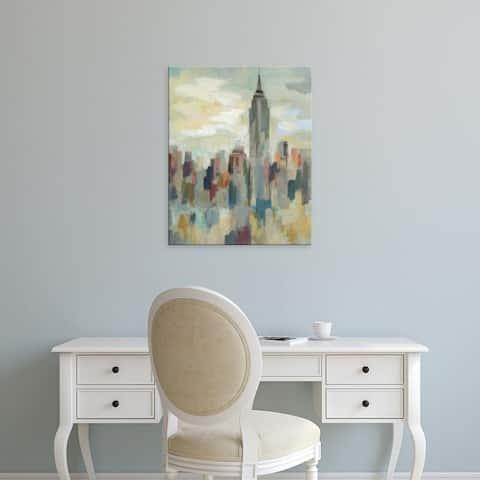 Easy Art Prints Silvia Vassileva's 'New York Impression' Premium Canvas Art