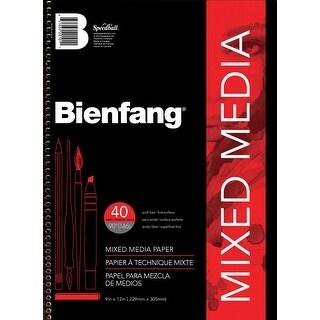 Bienfang 220101 9 X 12 Mixed Media Paper Pad