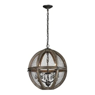 Dimond Home 140-007 Renaissance 6 Light 1 Tier Globe Chandelier