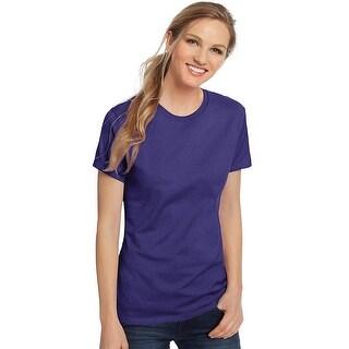Hanes Women's Nano-T® T-shirt - Color - Purple - Size - 3XL