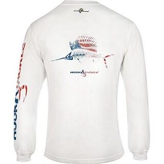 Hook & Tackle Mens American Sailfish, White