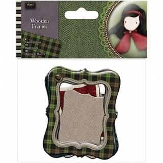 Docrafts GO269102 Santoro Gorjuss Tweed Wood Veneer Frames