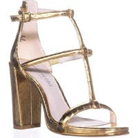 Kenneth Cole Deandra 2 Studded Dress Sandals, Gold - 6 us / 36 eu