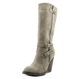 Very Volatile Imperial Women Round Toe Synthetic Mid Calf Boot