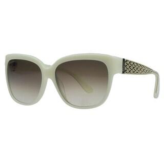 Salvatore Ferragamo SF663/S 103 Ivory Square Sunglasses