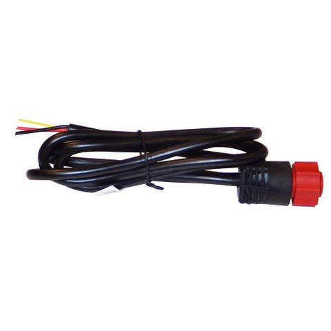 Lowrance 2-Wire Power for HDS-Elite Ti-Hook-Mark Power Only Cable 000-14041-001 2-Wire Power Cable
