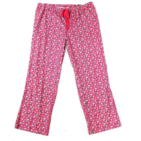 Vineyard Vines Women's Lounge Pants Pink Size Small S Holiday Flannel