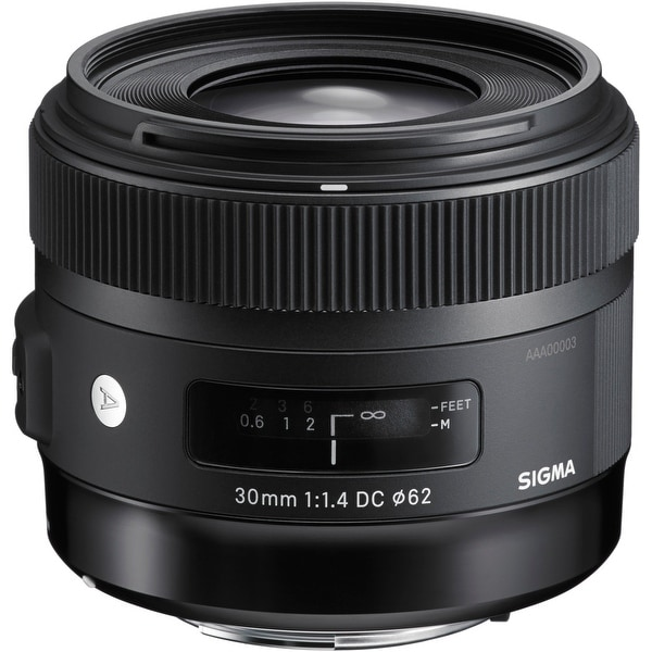 Sigma 30mm f/1.4 Art DC HSM Lens for Canon - Black