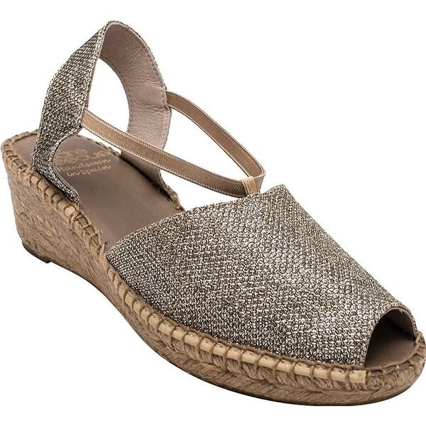 André Assous Womens Dainty Open Toe Casual Platform Sandals