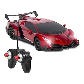 Link to Electric RC Car- Radio Remote Control Sport Racing Hobby Grade Model Car - Red Similar Items in Remote Control Toys