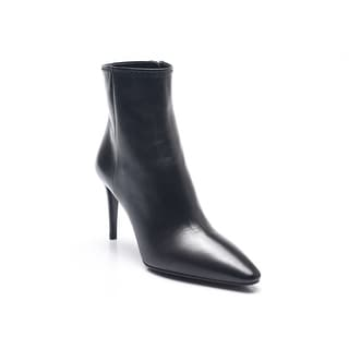 Prada Women's Nappa Ankle Booties Black