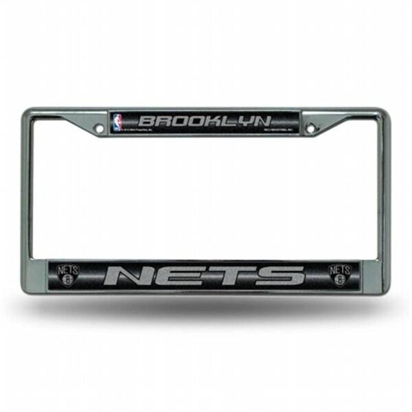 huge discount d9826 84ba0 RIC- New Jersey Nets NBA Bling Glitter Chrome License Plate Frame