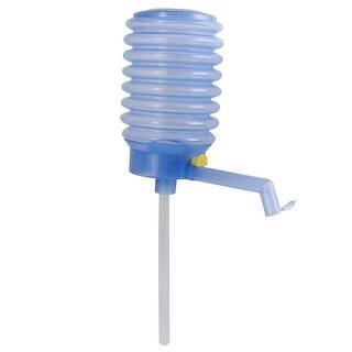 Hand Press ABS Bottled Drinking Water Pump 5 Gallon Dispenser Tap Blue