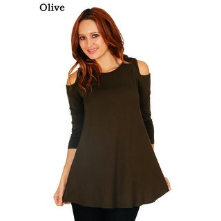 539a38d11bd Buy 3/4 Sleeve Shirts Online at Overstock | Our Best Tops Deals