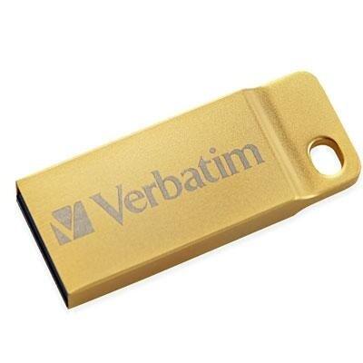 Verbatim - 99105 - 32Gb Mtl Exec Usb Flsh Drv Gld