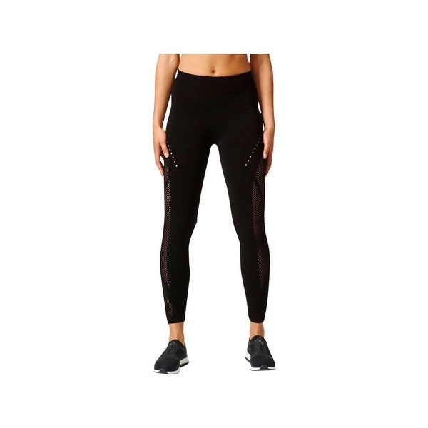 23ce74bbb5ed Shop Adidas Womens Athletic Leggings Fitness Yoga - Free Shipping Today -  Overstock - 20701999