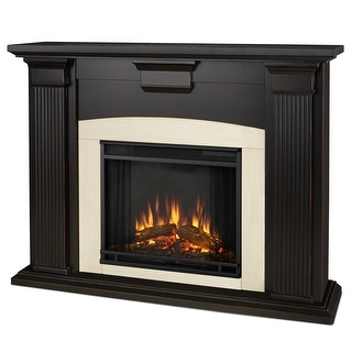 Real Flame 7920E-BW Adelaide Electric Fireplace in Blackwash