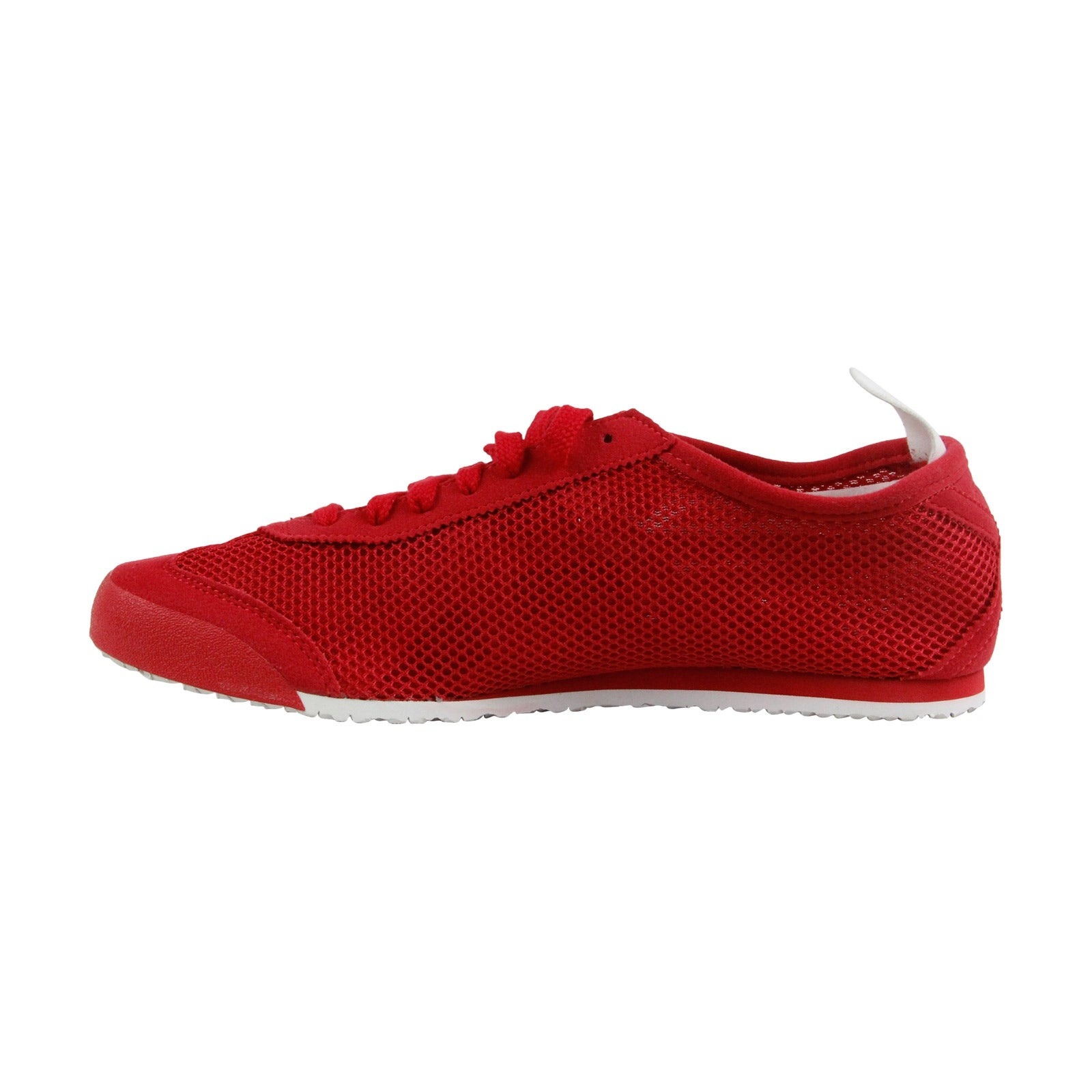 online store e403f be259 Onitsuka Tiger Mexico 66 Mens Red Mesh Sneakers Lace Up Shoes