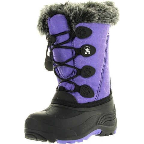 Kamik Girls Snowgypsy Fashion Cold Weather Winter Waterproof Snow Boots