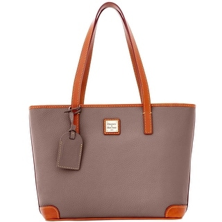 Dooney & Bourke Pebble Grain Charleston (Introduced by Dooney & Bourke at $198 in Apr 2012) - elephant