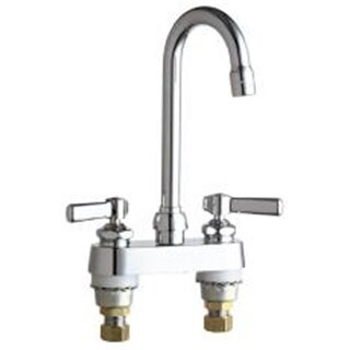 Chicago Faucet Company 283752 Ecast Lav With Gn Spt& Cart