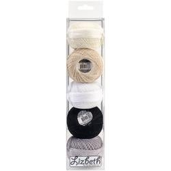 Neutral - Lizbeth Specialty Pack Cordonnet Cotton Size 20 5/Pkg