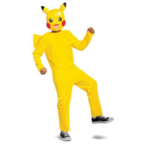 Pokemon Pikachu Classic Child Costume - Yellow