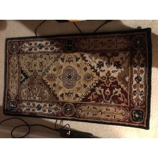 Safavieh Handmade Heritage Kylene Traditional Oriental Wool Rug