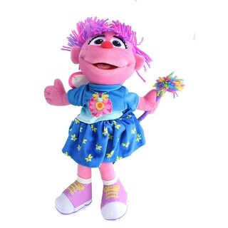 Sesame Street Abby Cadabby 11 Inch Plush - Purple