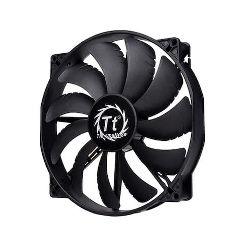 Thermaltake CL-F015-PL20BL-A Pure 20 DC Fan 200mm PC Computer Case Fan