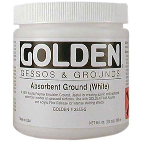 Golden - Absorbent Ground Watercolor - 8 oz.