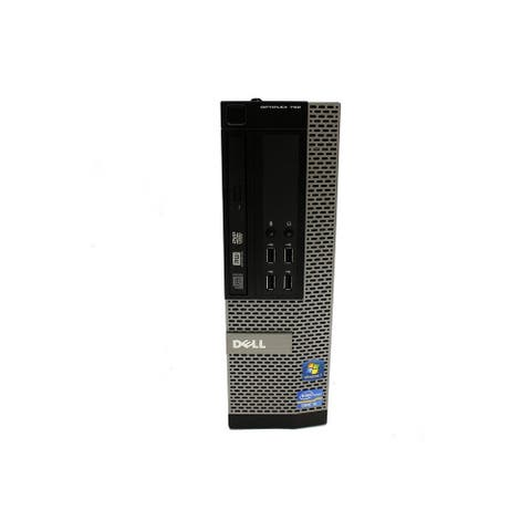Dell Optiplex 790 SFF Refurbished PC - Intel Core i5 2500 2nd Gen 3.3 GHz 8GB 128GB SSD DVD-RW Windows 10 Pro 64-Bit