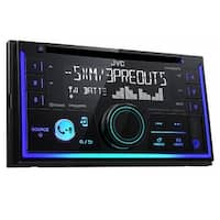 JVC KW-R930BTS Double-DIN CD Receiver w/ Bluetooth and USB/AUX Inputs - Black