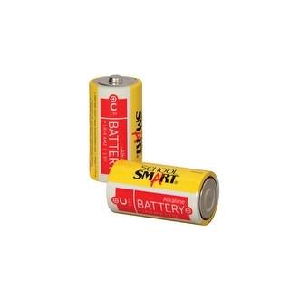 School Smart Alkaline C Battery, Pack of 2