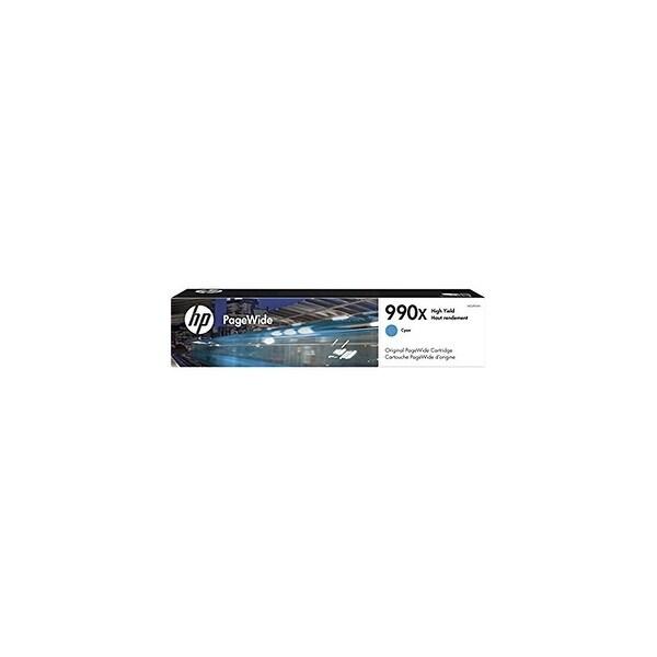 HP 990X High Yield Cyan Original PageWide Cartridge Toner & Inkjet Cartridges