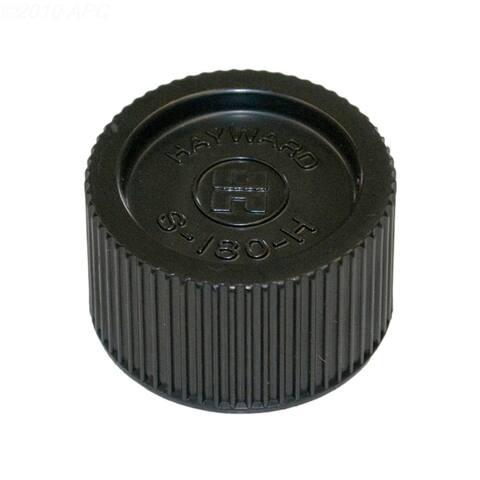 Black Genuine Hayward Swimming Pool Sand Filter Drain Cap & Gasket Replacement