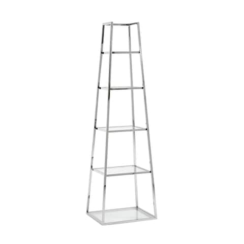 Stainless Steel Etagere, Silver