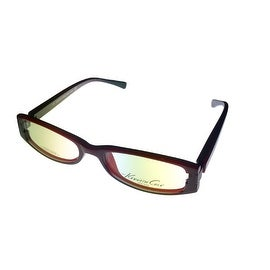 Kenneth Cole Reaction Opthalmic Frame Black Red Plastic Rectangle KC134 - Medium