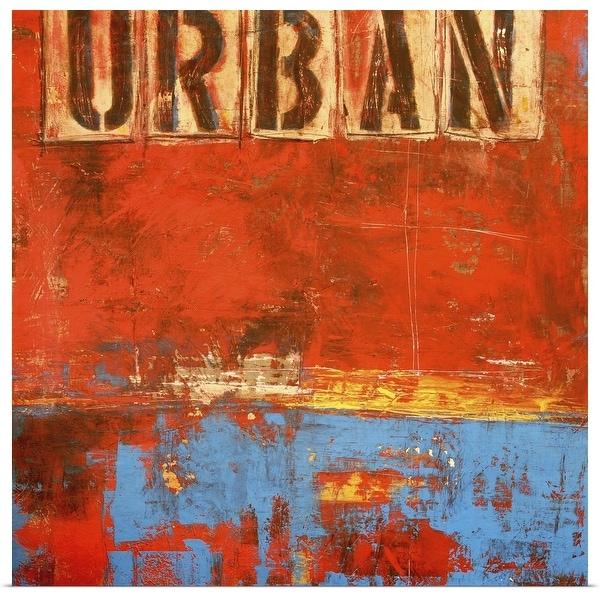 """Urban"" Poster Print"