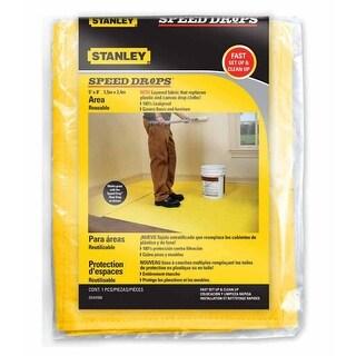 Stanley SDAD508 Speed Drop Area Drop Cloth, 5' x 8'