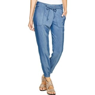 Vince Womens Casual Pants Tencel Utility