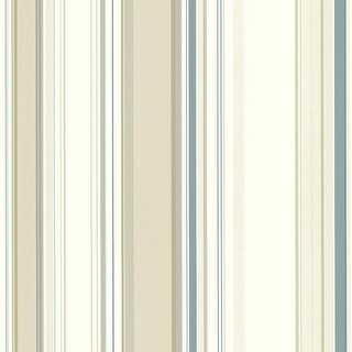 "Brewster SRC585116-SAM  8""x 10"" Sample of SRC585116 - Beige Lookout Stripe"