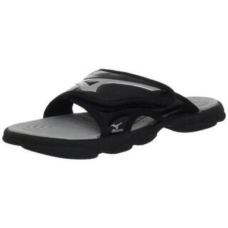Mizuno Mens Runbird 6 Adjustable Lightweight Slide Sandals - 4